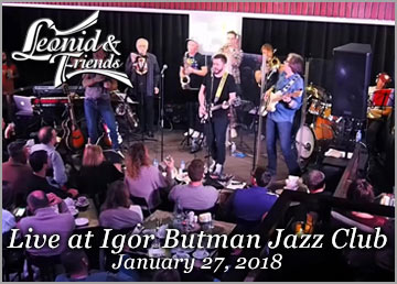 Live at Igor Butman Jazz Club
