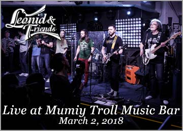 Live at Mumiy Troll Music Bar